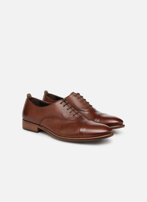 Chaussures à lacets Marvin&Co Luxe Dalbug - Cousu Blake Marron vue 3/4