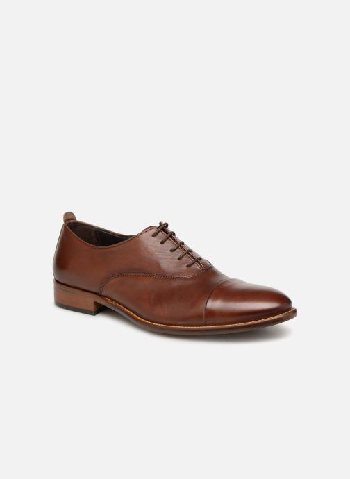 Chaussures à lacets Marvin&Co Luxe Dalbug - Cousu Blake Marron vue détail/paire