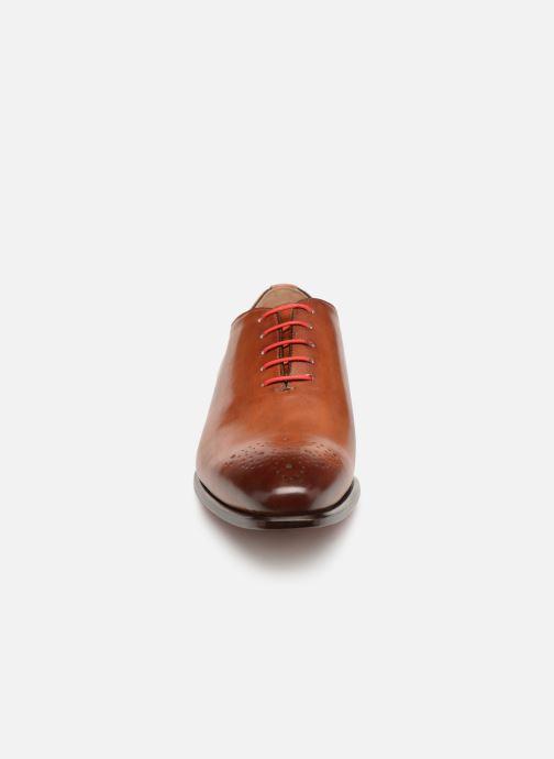Zapatos con cordones Marvin&Co Luxe Diston - Cousu Blake Marrón vista del modelo