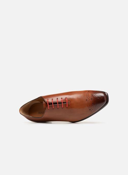 Zapatos con cordones Marvin&Co Luxe Diston - Cousu Blake Marrón vista lateral izquierda