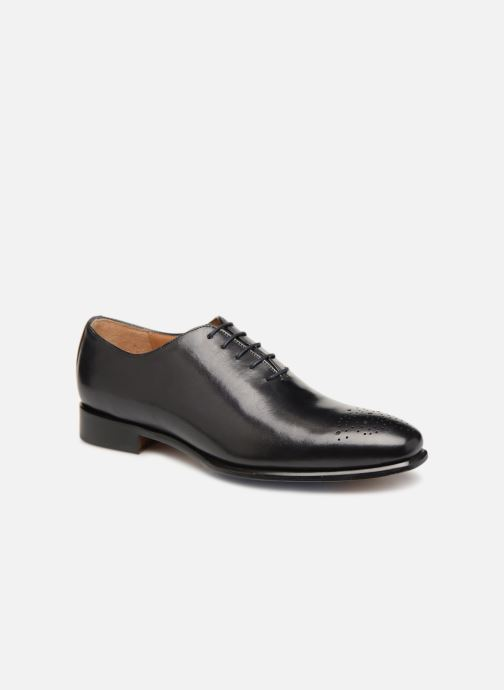 Snøresko Marvin&Co Luxe Diston - Cousu Blake Sort detaljeret billede af skoene