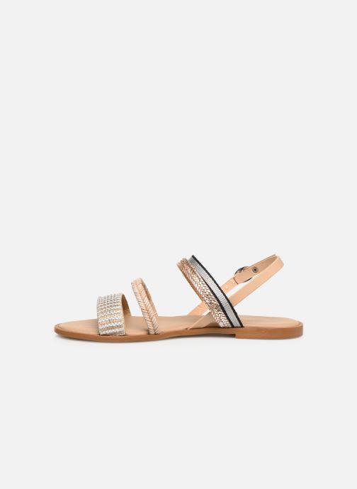 Sandales et nu-pieds Georgia Rose Dominka Beige vue face