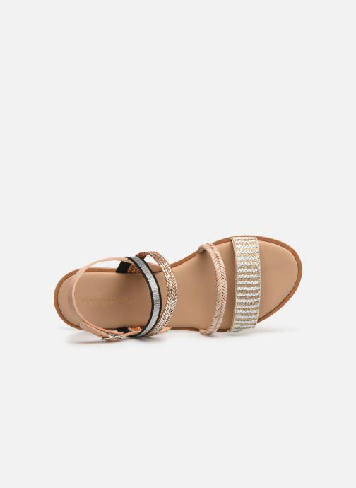 Sandales et nu-pieds Georgia Rose Dominka Beige vue gauche