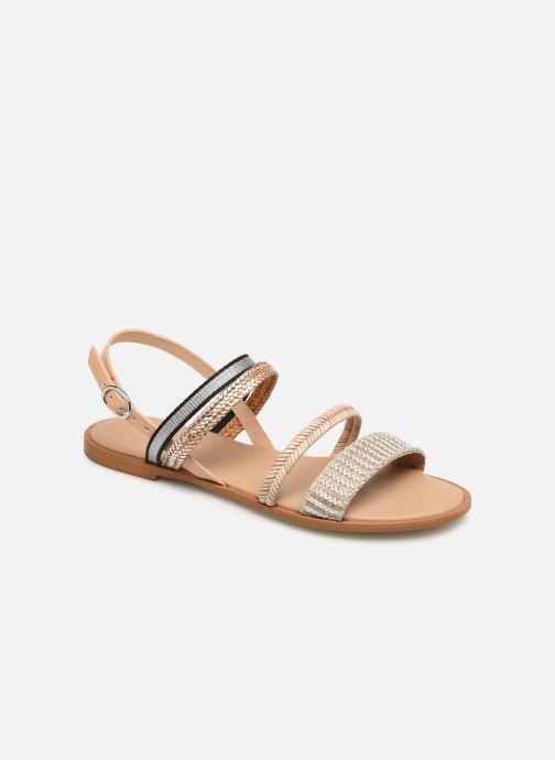 Sandaler Georgia Rose Dominka Beige detaljeret billede af skoene