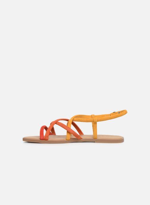 Sandalen Georgia Rose Dolbia orange ansicht von vorne