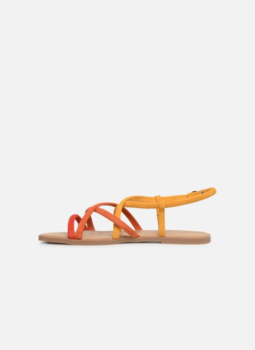 Sandales et nu-pieds Georgia Rose Dolbia Orange vue face
