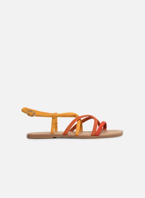 Sandales et nu-pieds Georgia Rose Dolbia Orange vue derrière
