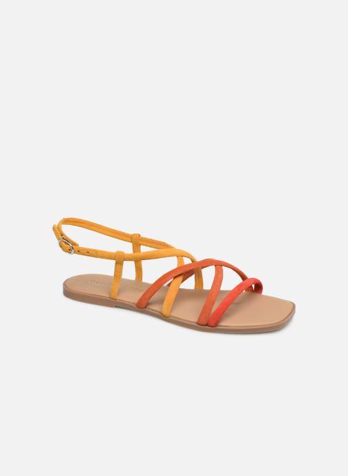 Sandales et nu-pieds Georgia Rose Dolbia Orange vue détail/paire
