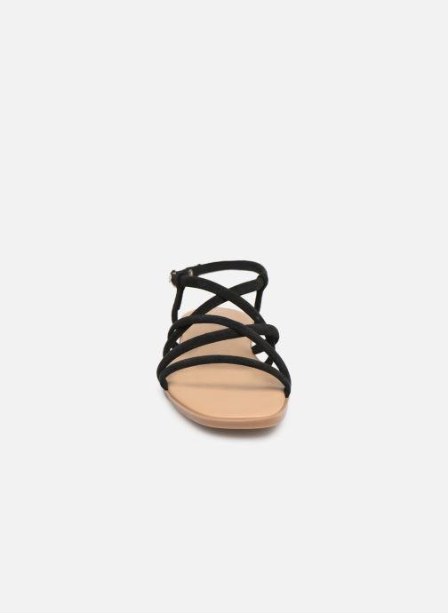 Sandales et nu-pieds Georgia Rose Dolbia Noir vue portées chaussures