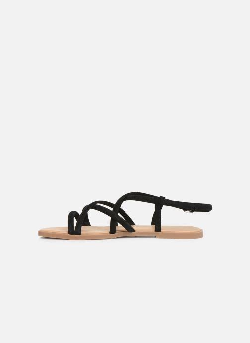 Sandales et nu-pieds Georgia Rose Dolbia Noir vue face