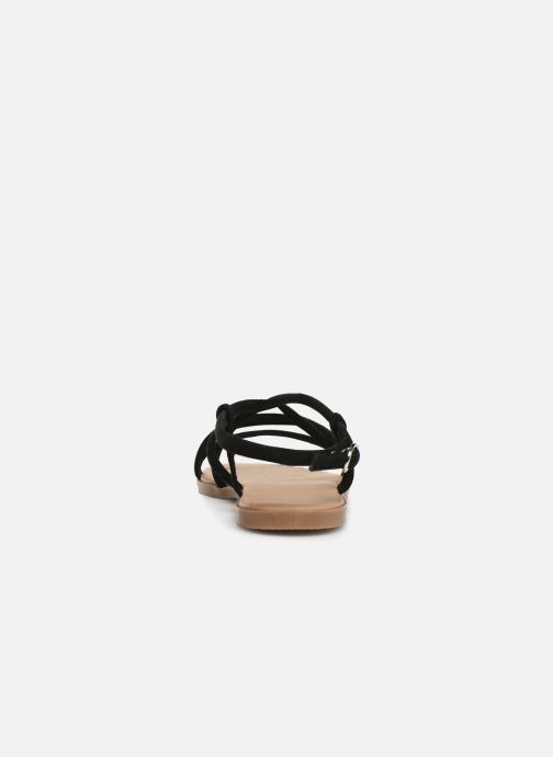 Sandales et nu-pieds Georgia Rose Dolbia Noir vue droite