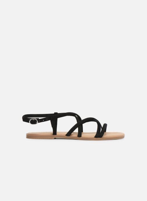 Sandales et nu-pieds Georgia Rose Dolbia Noir vue derrière