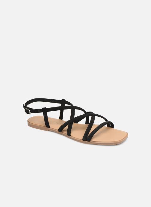 Sandales et nu-pieds Georgia Rose Dolbia Noir vue détail/paire