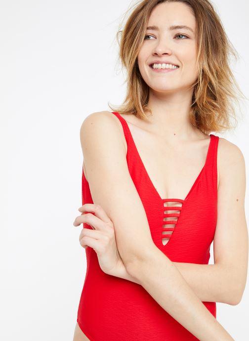 Vêtements Banana Moon MILLER COLLINS Rouge vue détail/paire