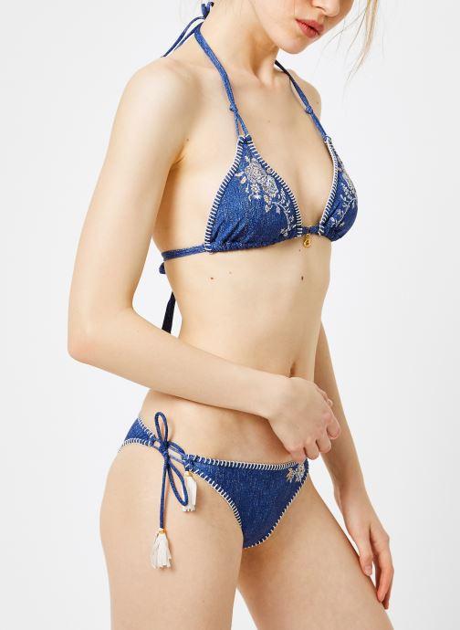 Vêtements Banana Moon NUCO FLASHBACK Bleu vue droite