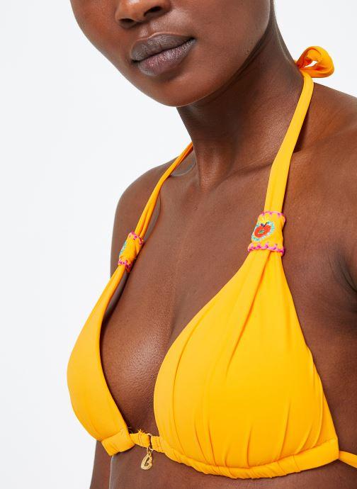 Vêtements Banana Moon NIKO QUINTANA Jaune vue face