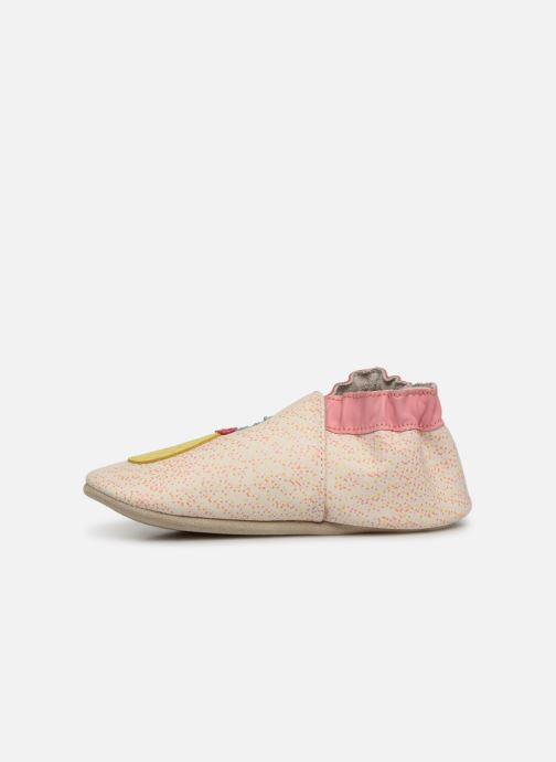 Chaussons Robeez Sweet Pinapple Blanc vue face