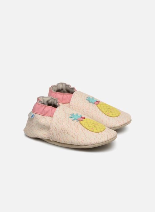 Slippers Robeez Sweet Pinapple White detailed view/ Pair view