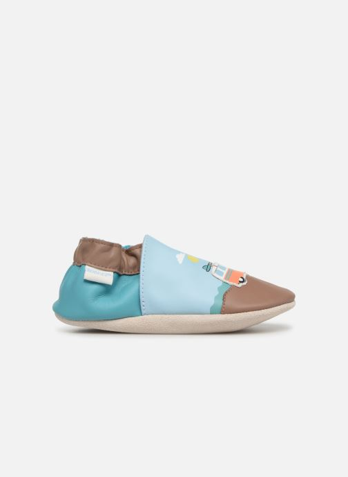 Slippers Robeez Surfing Summer Blue back view