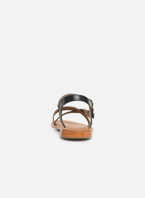 Sandals L'Atelier Tropézien SH651 Black view from the right