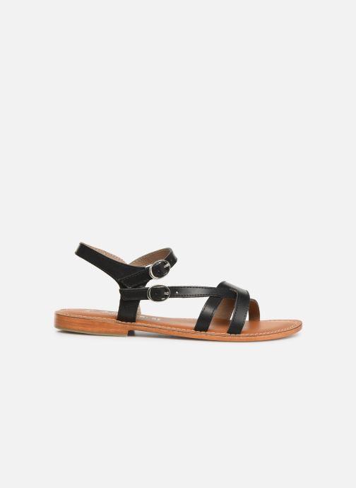 Sandals L'Atelier Tropézien SH651 Black back view