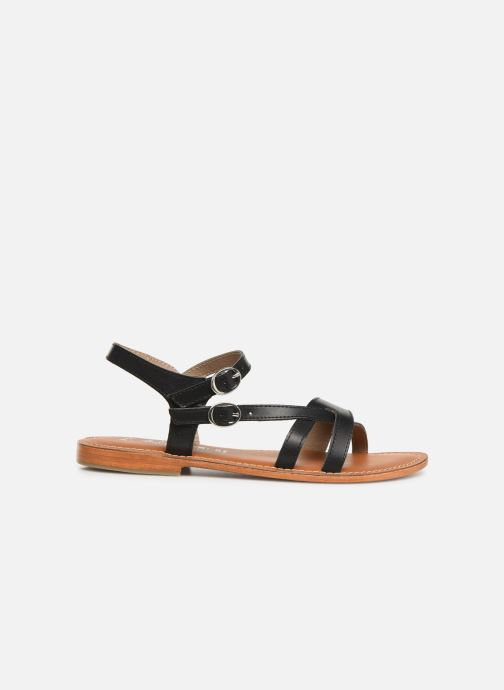 Sandals L'Atelier Tropézien SH651 Black back view