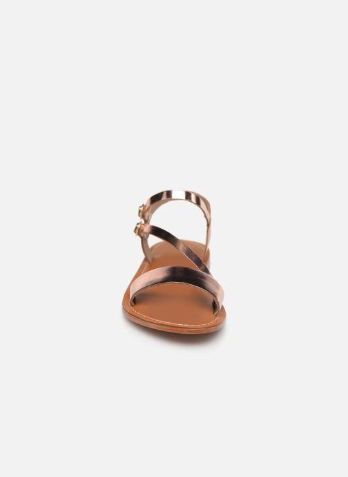 Sandales et nu-pieds L'Atelier Tropézien SH407 Or et bronze vue portées chaussures