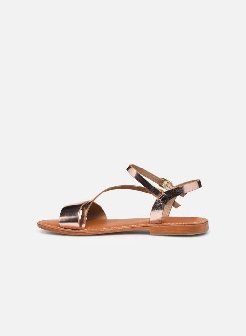 Sandals L'Atelier Tropézien SH407 Bronze and Gold front view