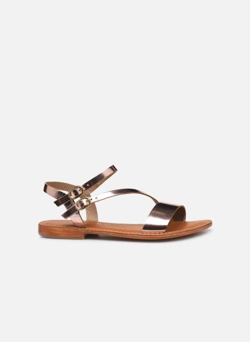 Sandals L'Atelier Tropézien SH407 Bronze and Gold back view