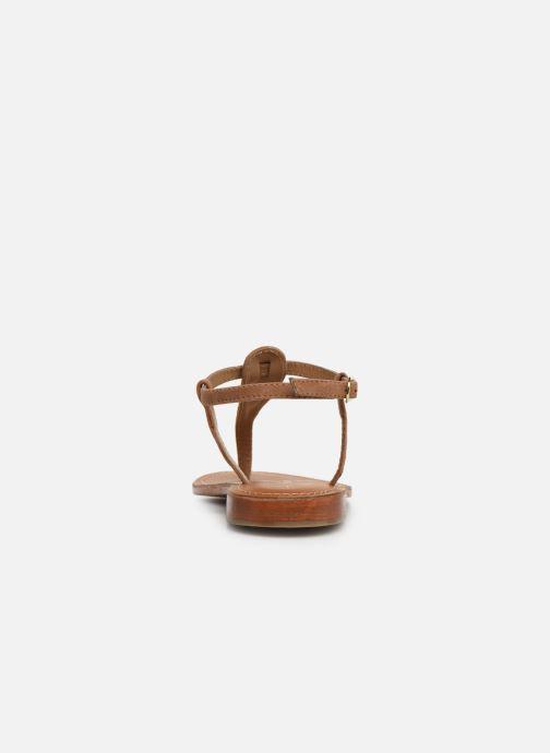 Sandales et nu-pieds L'Atelier Tropézien SH600 Marron vue droite
