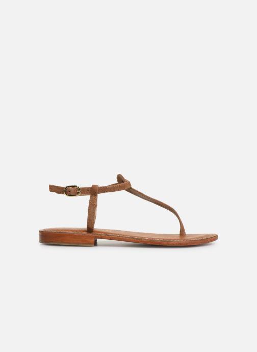 Sandales et nu-pieds L'Atelier Tropézien SH600 Marron vue derrière