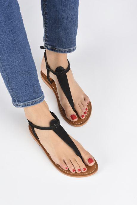 Sandalen L'Atelier Tropézien SH600 Zwart onder
