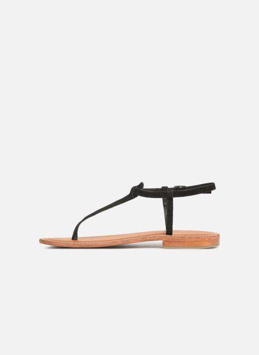 Sandales et nu-pieds L'Atelier Tropézien SH600 Noir vue face