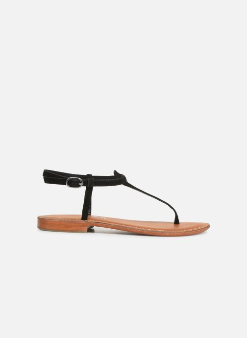 Sandalen L'Atelier Tropézien SH600 Zwart achterkant