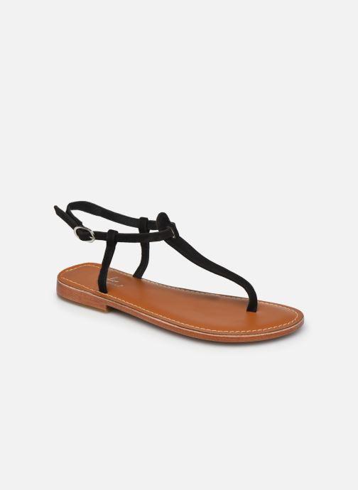 Sandales et nu-pieds L'Atelier Tropézien SH600 Noir vue détail/paire