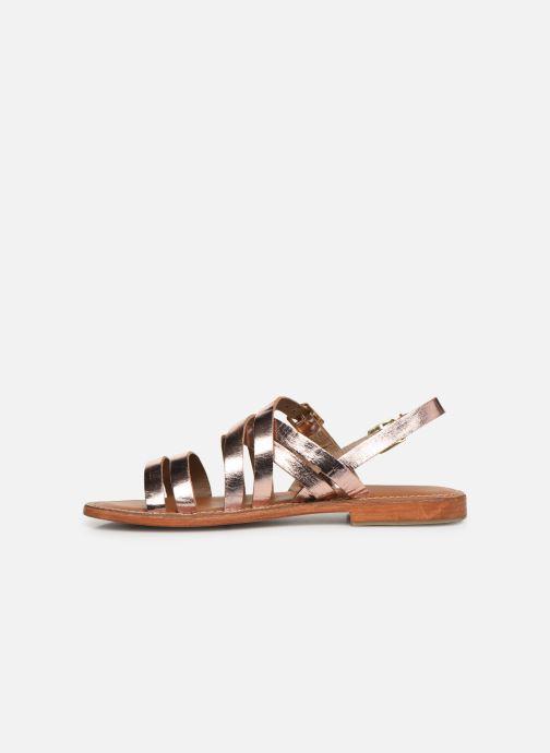 Sandali e scarpe aperte L'Atelier Tropézien SH655 Rosa immagine frontale