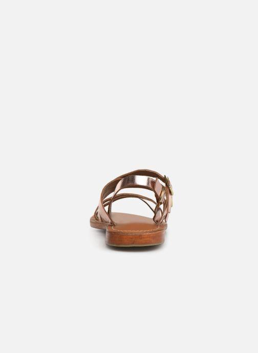 Sandali e scarpe aperte L'Atelier Tropézien SH655 Rosa immagine destra