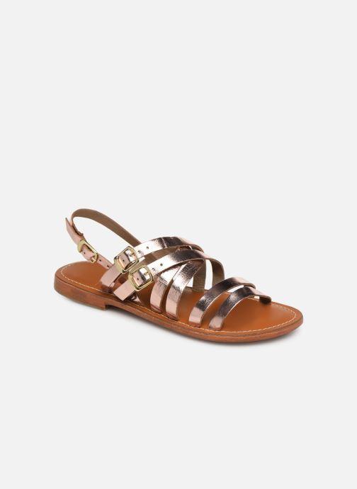 Sandaler L'Atelier Tropézien SH655 Pink detaljeret billede af skoene