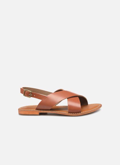 Sandales et nu-pieds L'Atelier Tropézien SB813 Marron vue derrière