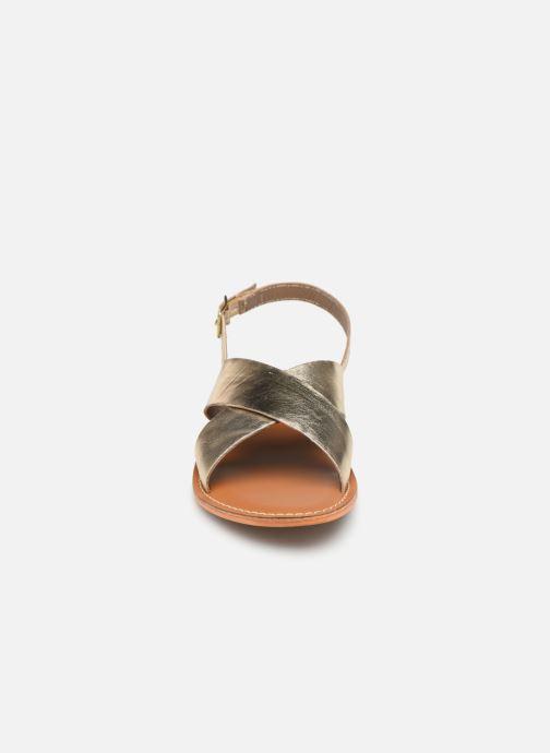 Sandales et nu-pieds L'Atelier Tropézien SB813 Or et bronze vue portées chaussures