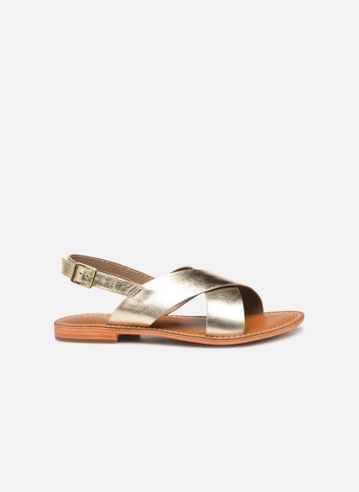Sandals L'Atelier Tropézien SB813 Bronze and Gold back view