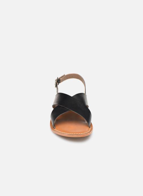 Sandali e scarpe aperte L'Atelier Tropézien SB813 Nero modello indossato