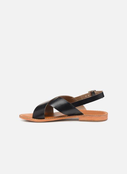 Sandali e scarpe aperte L'Atelier Tropézien SB813 Nero immagine frontale