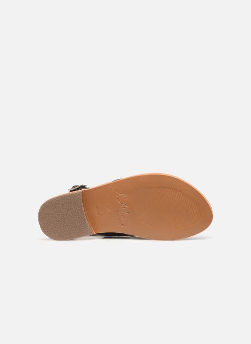Sandali e scarpe aperte L'Atelier Tropézien SB813 Nero immagine dall'alto