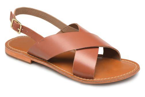 Sandales et nu-pieds L'Atelier Tropézien SB813 Marron vue 3/4