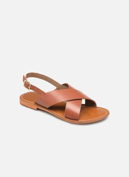 Sandales et nu-pieds L'Atelier Tropézien SB813 Marron vue détail/paire