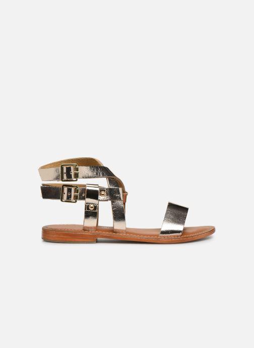 Sandales et nu-pieds L'Atelier Tropézien SH604 Or et bronze vue derrière
