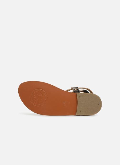 Sandales et nu-pieds L'Atelier Tropézien SH604 Or et bronze vue haut