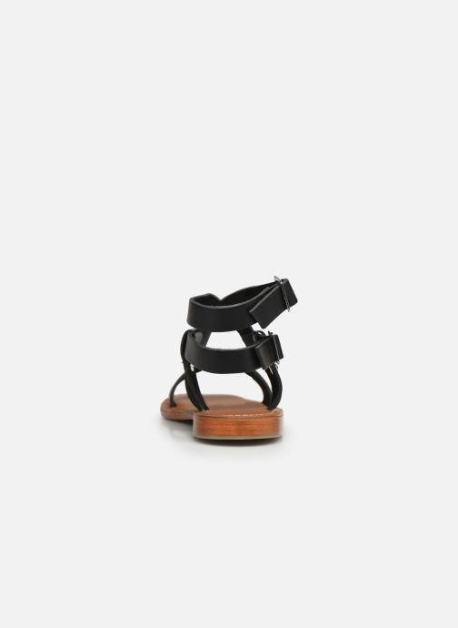 Sandales et nu-pieds L'Atelier Tropézien SH604 Noir vue droite