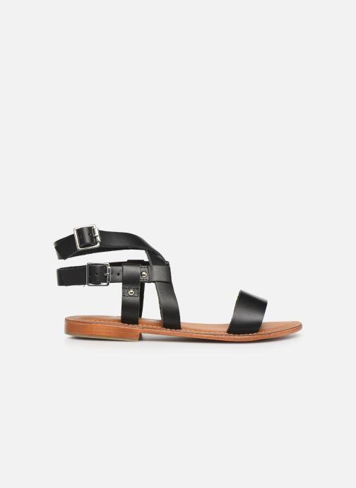 Sandales et nu-pieds L'Atelier Tropézien SH604 Noir vue derrière
